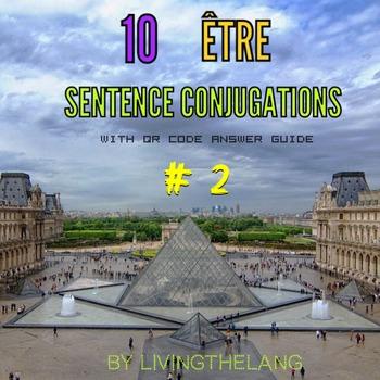 être conjugations. 10 Practice Sentences # 2