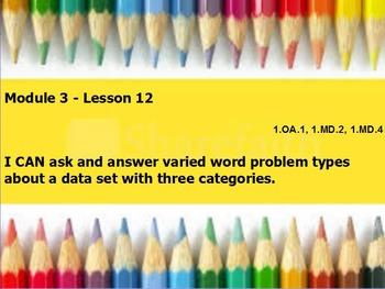 eureka math module 3 lesson 12 first grade