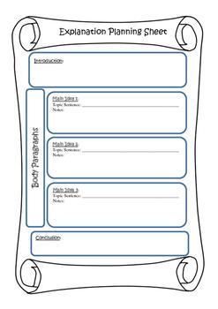 explanation planning