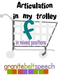 'f' In My Trolley Articulation Game - 'f' in initial, medi