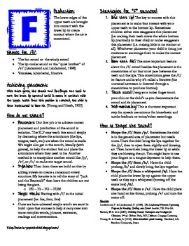 /f/ Placement Handout for Parents