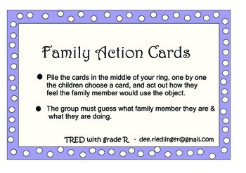 family action cards