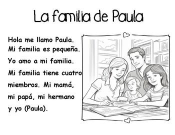 family in Spanish / La familia