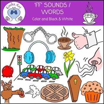 ff Sounds / Words Clip Art