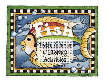 fish bundle: math, science and literacy activities