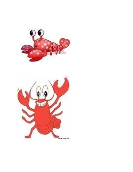 Five Little Lobsters