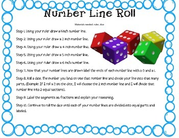 Fractions {Number Line Game}