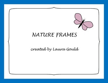 frames - nature, flowers and creatures