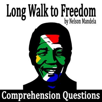 """from """"Long Walk to Freedom"""" by Nelson Mandela - Comprehens"""