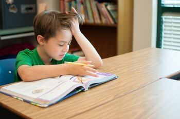 Stock Photo: Frustrated Student-Personal & Commercial Use