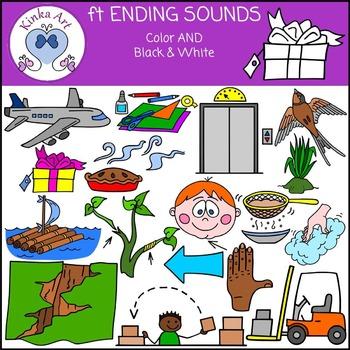 ft Ending Sounds Clip Art