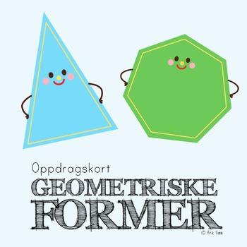 geometriske former (oppdragskort)