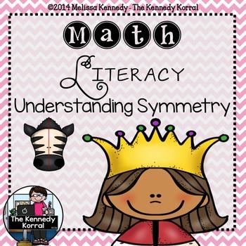 Math Literacy: Understanding Symmetry {Anchor Charts, Mats