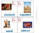 2nd Grade Math Calendar - Geometry, Vocabulary, Fact Families