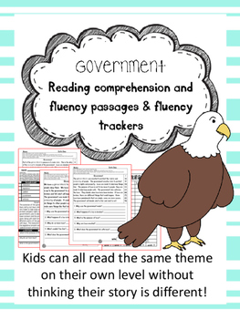 government fluency and comprehension leveled passage