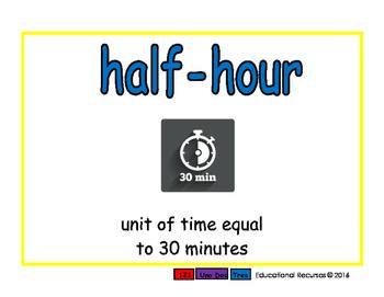 half-hour/media hora meas 2-way blue/rojo