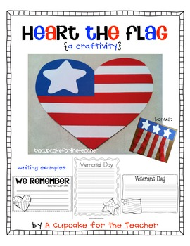 Heart the Flag {Craftivity}