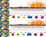 hungry caterpillar nameplates