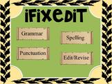 Daily Oral Language ~ DOL ~ iFixedit (Grammar-Revise/Edit)