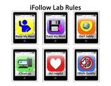 iFollow Lab Rules Smartphone Computer Lab Rules Posters an