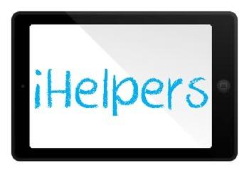 iHelpers Classroom Job Chart
