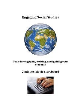 iMovie Storyboard (Editable)