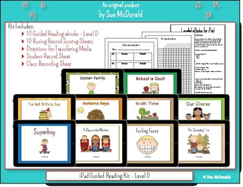 iPad - 10 eBooks for Guided Reading - Level D, With Runnin