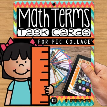 iPad Task Cards: Create Math Posters on the Free App Pic Collage