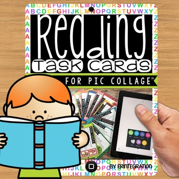 iPad Task Cards: Create Reading Strategy Posters on the Ap
