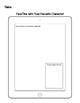 iPad Character FaceTime Worksheet