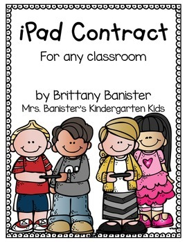 iPad Contract for Students and Parents