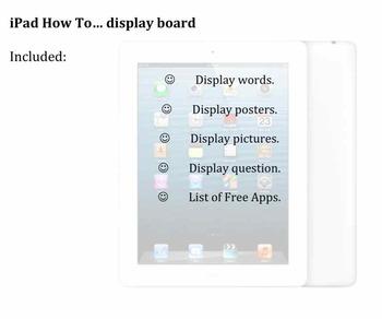 iPad Display Board Collection