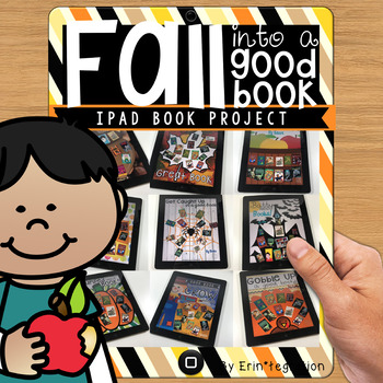 Reading Log Fall Book Project on the iPad