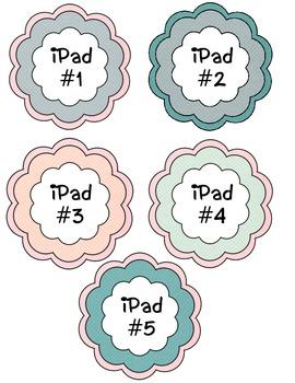 iPad Labels