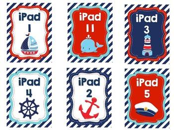 iPad Lock Screens Nautical Theme