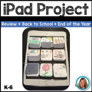 iPad Review the Year Craft - Great for NEW YEARS 2017