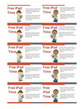iPad Reward Coupons