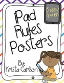 iPad Rules Posters (Bilingual)
