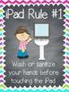 iPad Rules Posters in multi-chevron {FREEBIE!}
