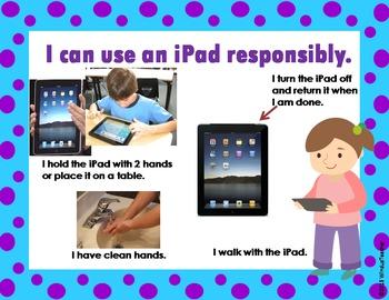iPad Rules Sign