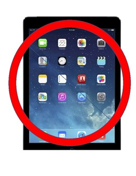 iPad Usage Signs