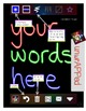 iPad Spelling Activities and Word Work Center using Glow Draw