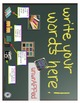 iPad Spelling Activities and Word Work Center using the Re