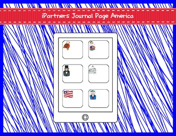 iPartners Journal Page America Theme