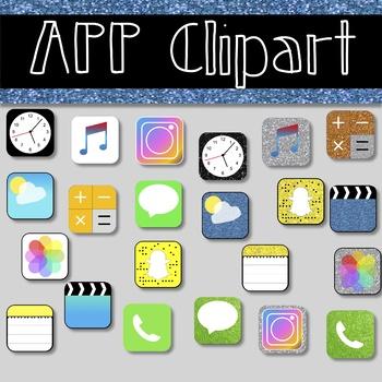 iPhone App Clipart!