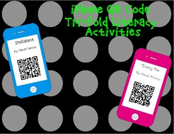 iPhone QR Code Tri-Folds -16 Online Stories and story elem