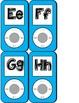 iPod Themed Word Wall Headers - Blue