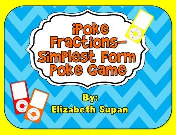 iPoke Simplest Form Fractions Game