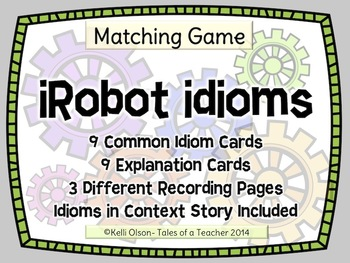 Idioms in Context Literacy Center