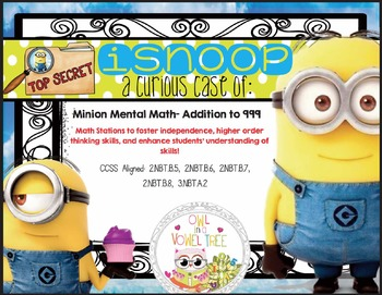 iSnoop: Minion Mental Math Addition to 999